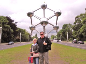 Trisha and John Parker Brussels Atomium
