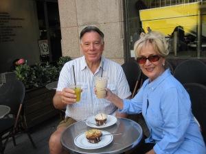 Trisha and John Parker Morning in Stockholm