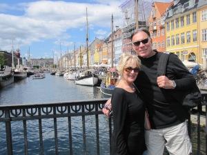 Trisha and John Parker Copenhagen