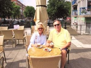 Trisha and John Parker Morning / Amsterdam