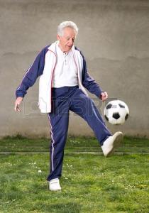 Old Man Soccer