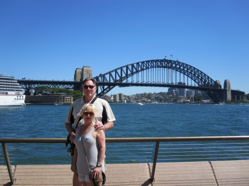 Trisha and John Parker Sydney Harbour Bridge