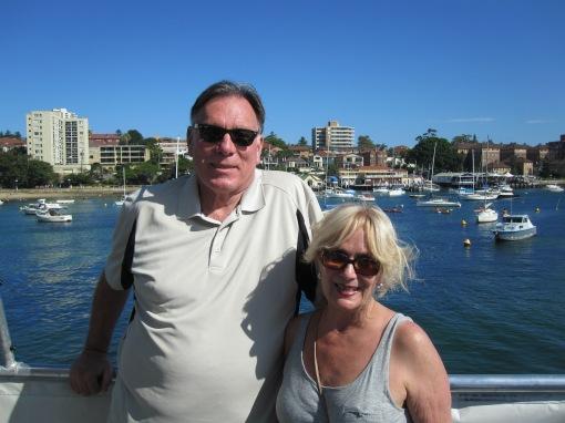 Trisha and John Parke Manly Beach, Australia