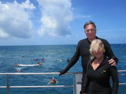 Trisha and John Parker The Great Barrier Reef