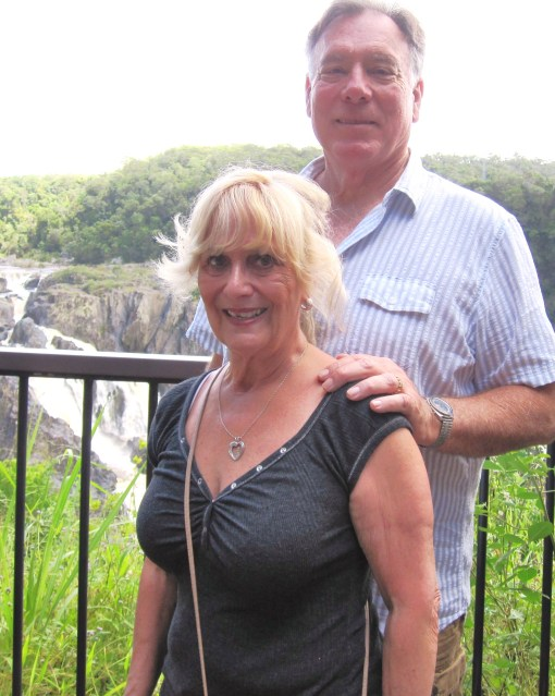 Trisha and John Parker Barron Falls
