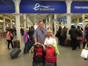 Trisha and John Parker               Eurostar
